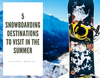5 Snowboarding Destinations