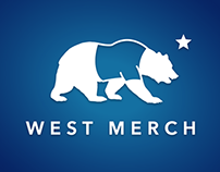 West Merch Logo Design