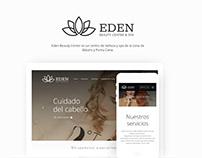 Página web: Eden Beauty Center