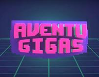 Aventugigas - INCAA - Branding para programa de TV