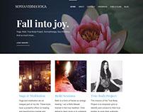 Fall into Joy (Sonya Verma Yoga) | Wordpress