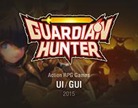 Guardian Hunter Action RPG Game UI/GUI