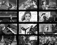 Piano Storyboard