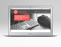 Gallant Creative Website