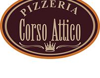 Pizzeria Corso Attico -- Menu Design --