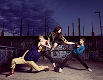 Contemporary Dance Photoshoot in Torino part I (Italy)