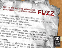 FUZZ Sound Design Identity