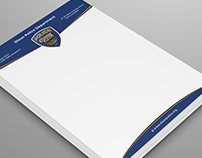 Police Department Letterhead Design