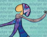 Seasons PostCards // Illustration