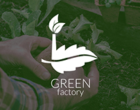 Greenfactory | Brand design | green | logo | nature