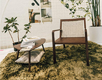 Article Furniture Collaboration: Indoor/Outdoor Chair