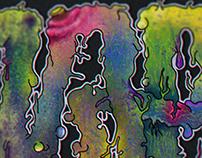 Phsycodelic Zab (Lettering, Pintura Digital)