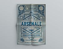 Arsenale - Inaugurazione (Flyer+Poster)
