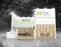 Exhibition stand for INTEK