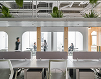 STUDIO/ WU INTERIOR AMBER HILL Office