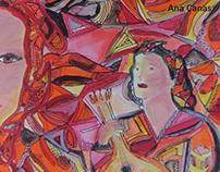 Amalia´s and Fado music, private collection Holland