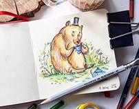 Children Illustration Sketchbook