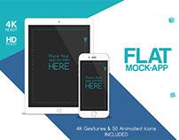 Flat Mock-App Commercial
