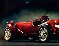 Lancia Astura 1932 - Retouching