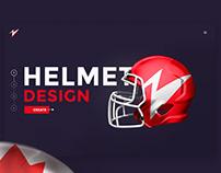 Helmet design. Create your own design