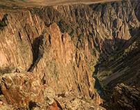 Black Canyon of the Gunnison, Montrose, CO USA