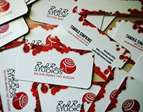 Red Rose Studios - Business Card