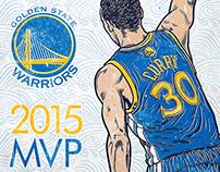 2015 NBA MVP Stephen Curry
