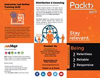 Tri Fold Brochure - PACKT Publishing Pvt. Ltd.