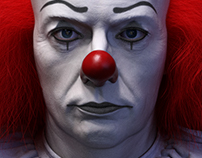 Tim Curry as Pennywise
