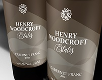 Label Design Vancouver / Henry Woodcroft Estates Wines