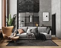 Дизайн квартиры в ЖК «Счастье на Пресне»