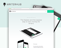 Writerhub - Place for writers (Available ONLNE)