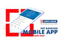 MOBILE APP UI DESIGN HDFC NETBANKING