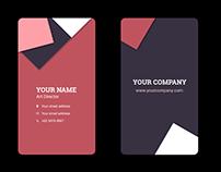Business card PSD