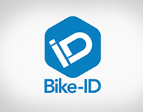BIKE-ID logotype and package design