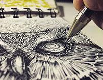 Mini-sketchbook 2015, part 2