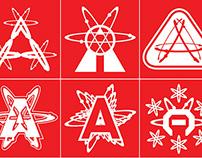 Annandale Atoms Band T-Shirts - Atomic Blast - 2012