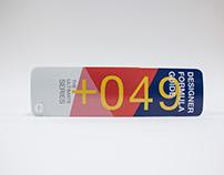 +049 DESIGNER FORMULA GUIDE