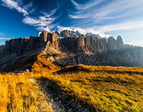 Sella group. Dolomites