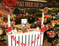 Valentine's Day Floral Display