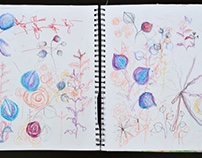 The Bouquet: Floral Studies & Process (WIP)
