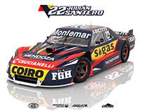 2018 Dodge GTX Turismo Carretera - Julián Santero