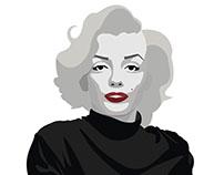 Marilyn Monroe - Vector Art
