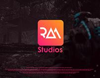 RAM Studios Logo Concept | Daya Graphics