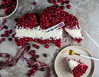 confectionary Sala. Latvia. Cake.