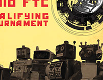 2017 FTC Robotics Tournament Poster & T-shirt