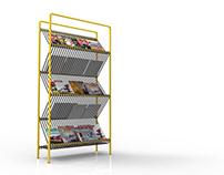 Oblique Magazine Rack