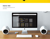 Vinyl in Black - Diseño Web