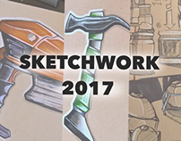 Sketchwork archives 2017