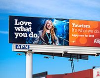 Love What You Do : outdoor advertising campaign